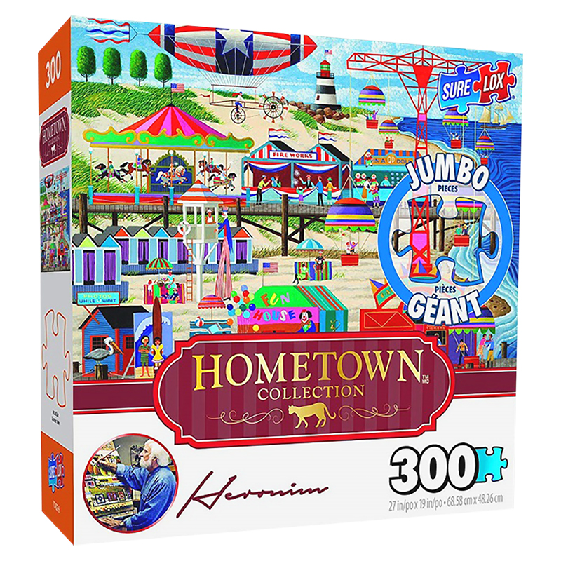 Sure-Lox Hometown Collection Puzzle - Independence Day