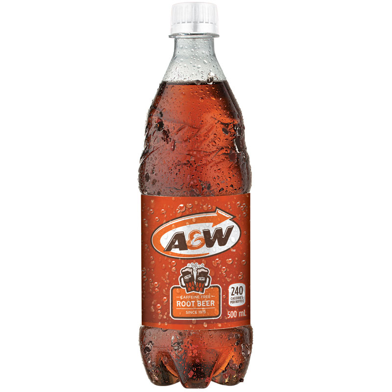 A&W Root Beer - 500ml