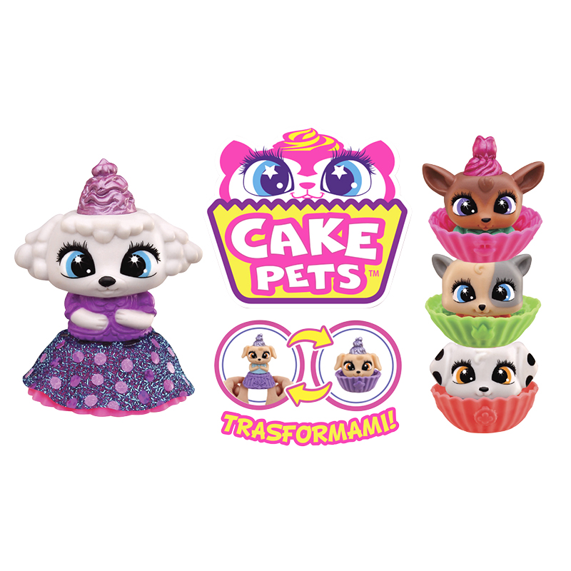 Cake Pets - Kitty - Assorted