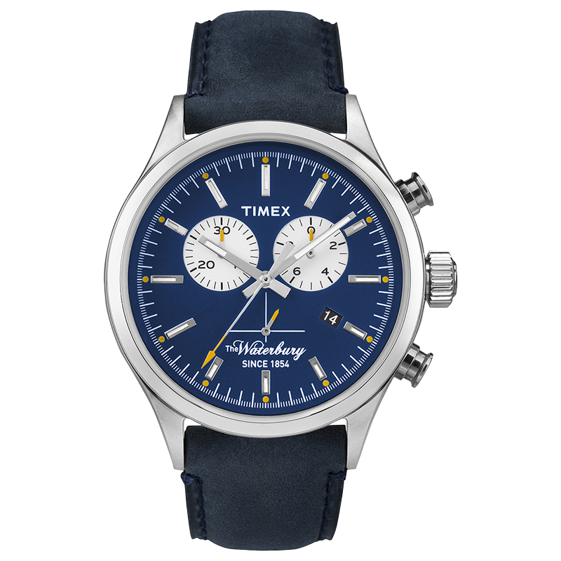Timex Fashion Chronograph Watch - Blue - TW2P75400AW