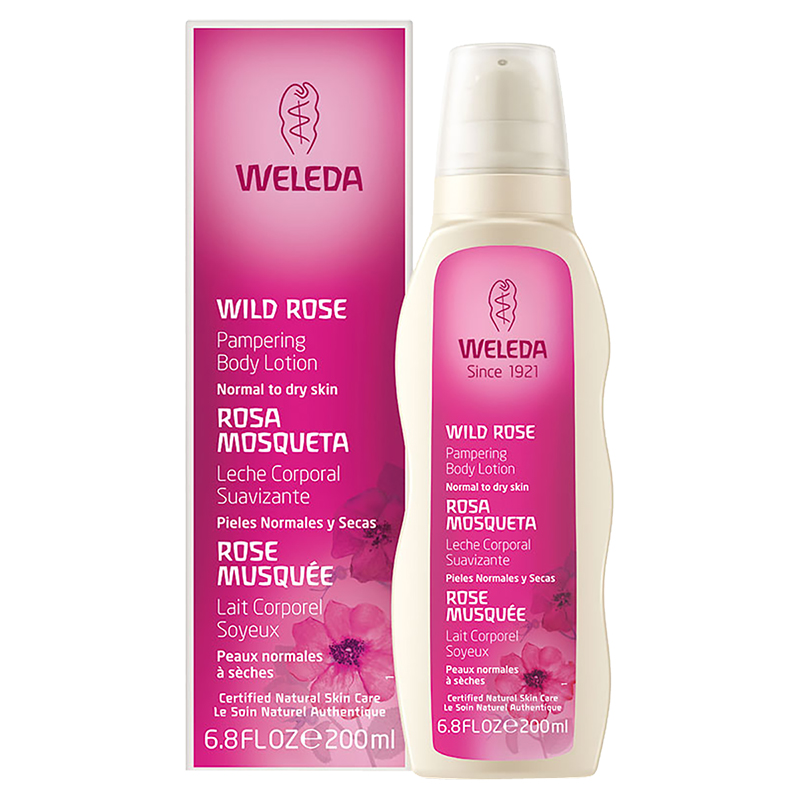 Weleda Wild Rose Pampering Body Lotion - 200ml