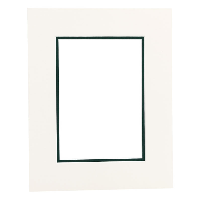 Tempo 8x10 Mat Frame - Chantilly/Evergreen