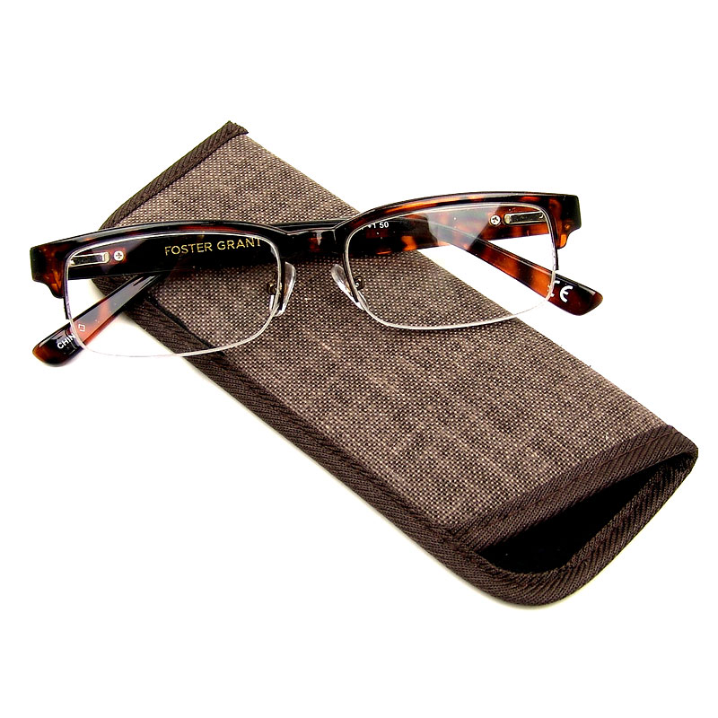 Foster Grant Bentley Reading Glasses - Tortoiseshell - 1.50