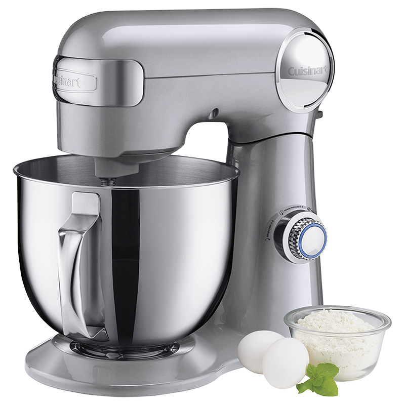 Cuisinart Precision Master 5.5 Quart Stand Mixer - Brushed Chrome - SM-50BCC