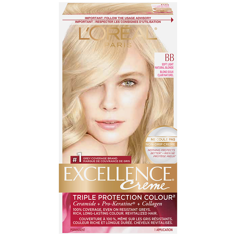 L'Oreal Excellence Creme - BB Soft Light Natural Blonde