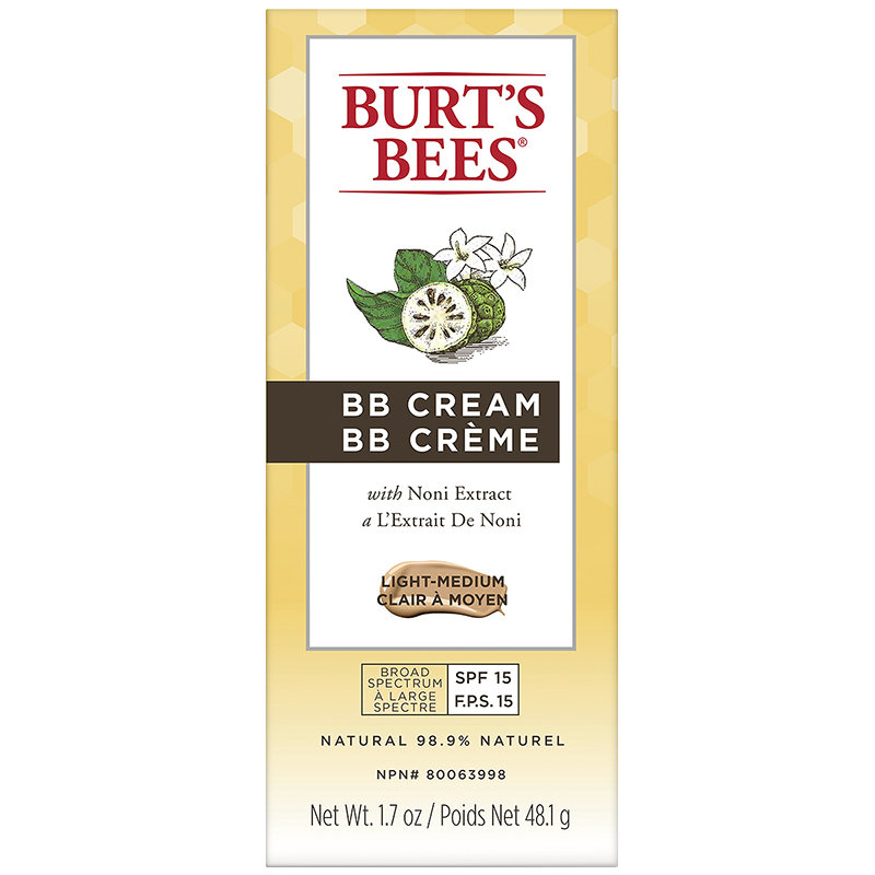 Burt's Bees BB Cream - Light to Medium - 48.1g