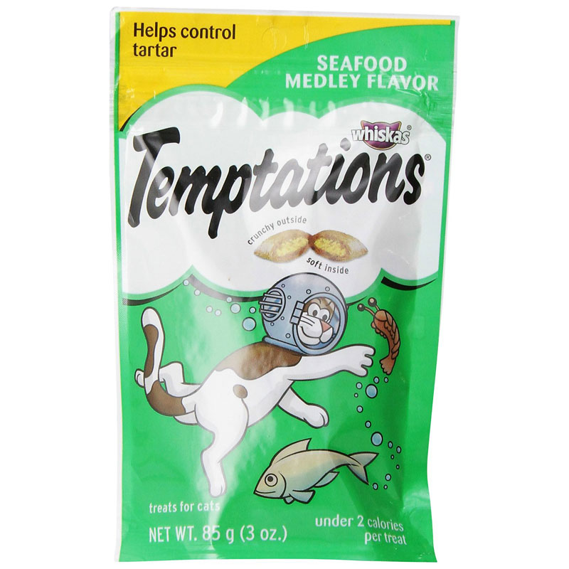 Whiskas Temptations - Seafood - 85g