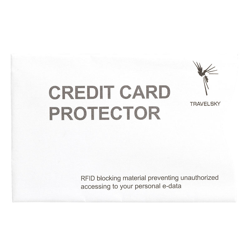 RFID Blocking Credit or I.D. Card Sleeve