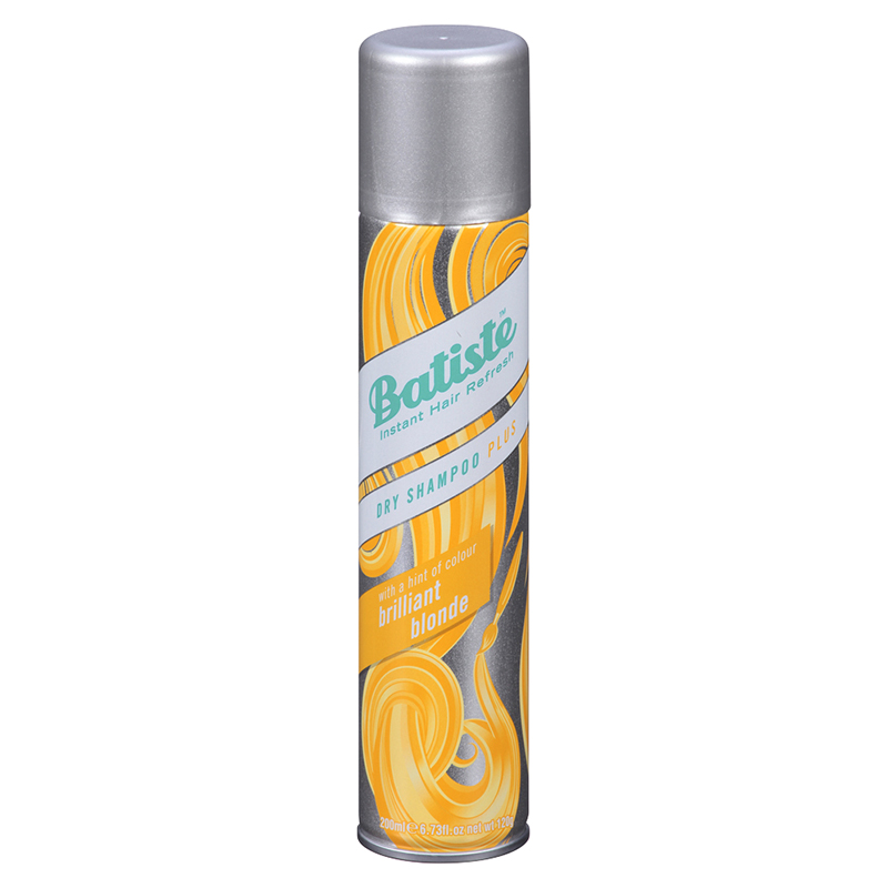 Batiste Dry Shampoo Plus with a Hint of Colour - Beautiful Blonde - 200ml