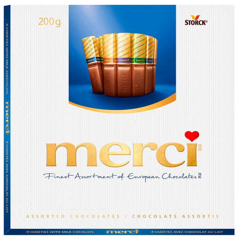 Merci Milk Chocolates - 200g