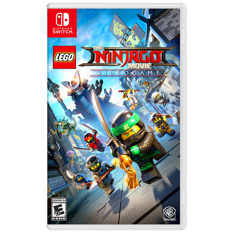Switch Lego Ninjago Movie Video Game