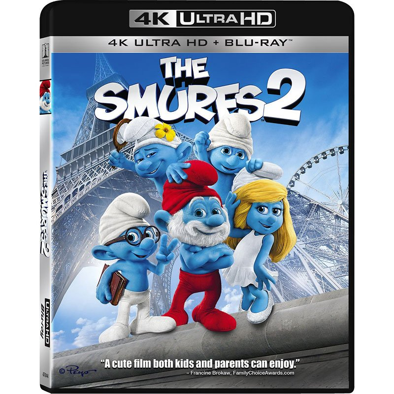 The Smurfs 2 - 4K UHD Blu-ray