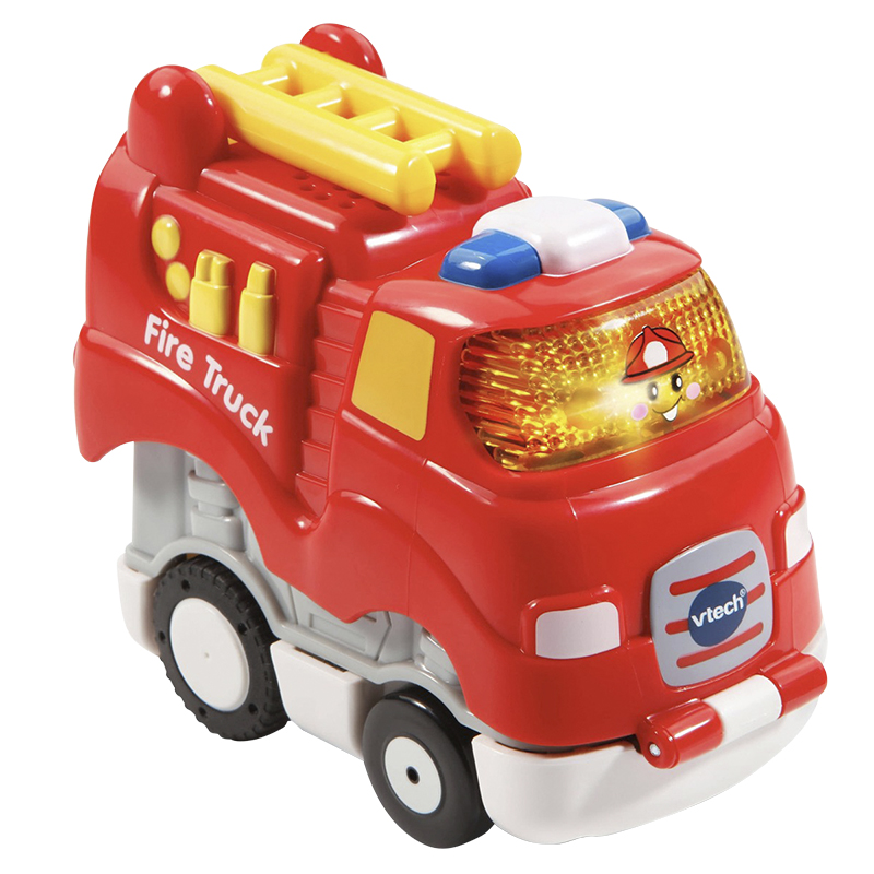 VTech Go Go Smart Wheels Press and Race - Fire Truck