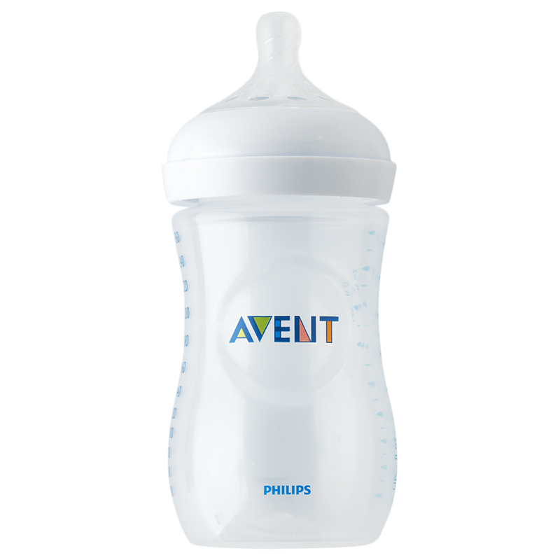 Avent Natural Baby Bottle - 3 x 260ml