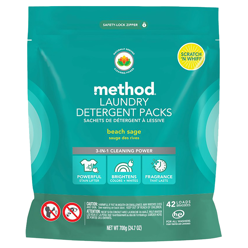 Method Laundry Detergent - Beach Sage - 42's