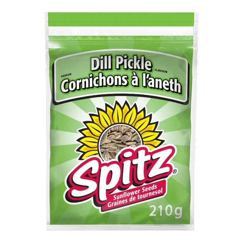 Spitz Sunflower - Dill Pickle - 210g