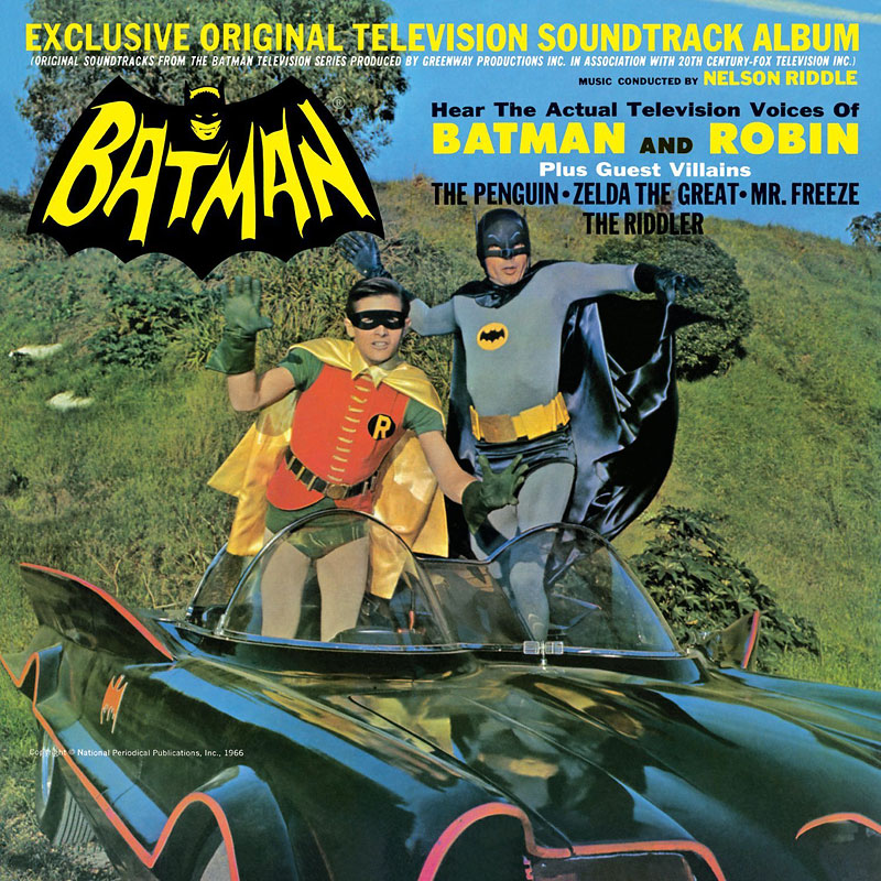 Batman: Original Television Series - Soundtrack - Vinyl