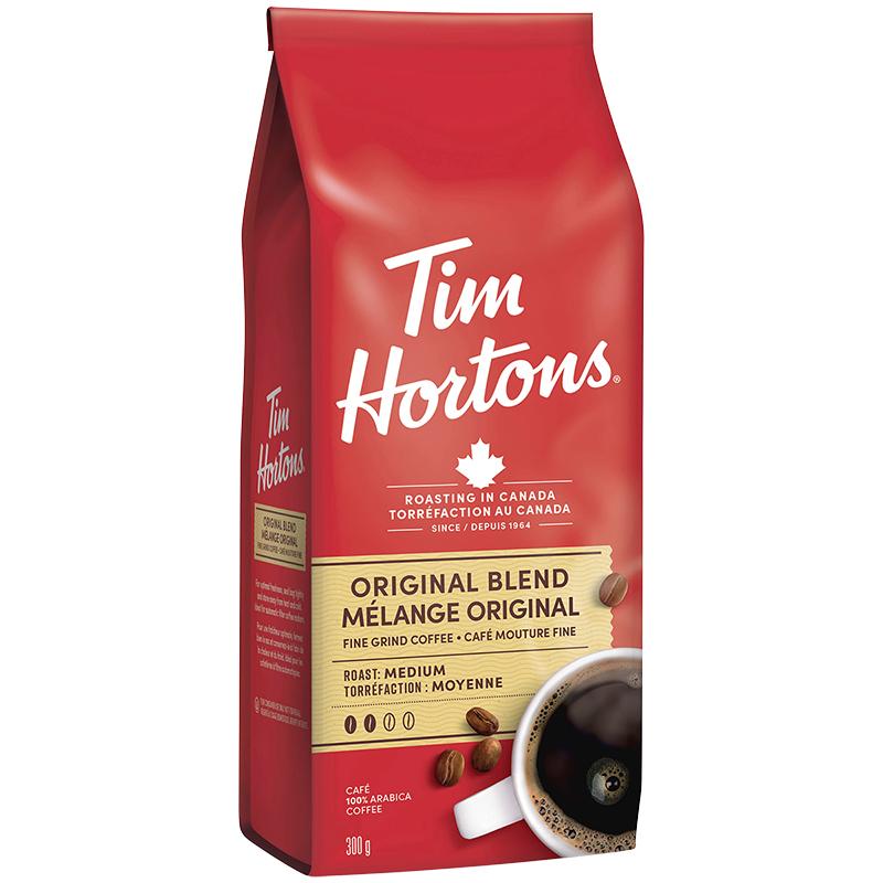 Tim Hortons Original Coffee 300g London Drugs