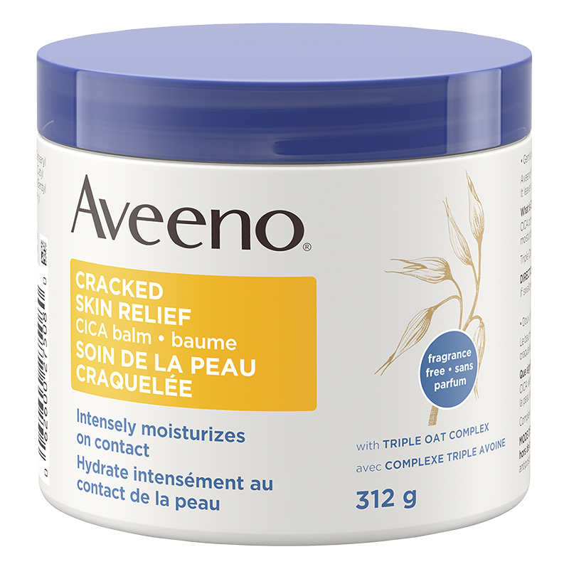 Aveeno Cracked Skin Relief Cica Balm - 312g