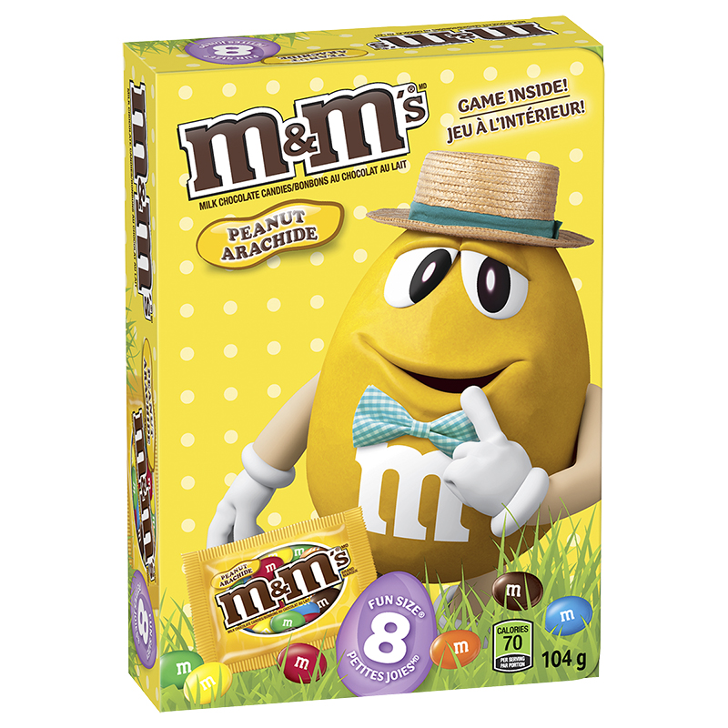 M&M's Peanut Fun book - 104g