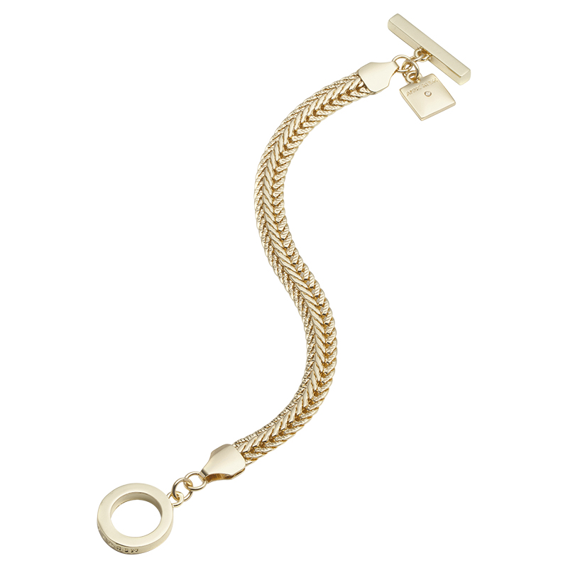 Anne Klein Chain Bracelet Gold Tone
