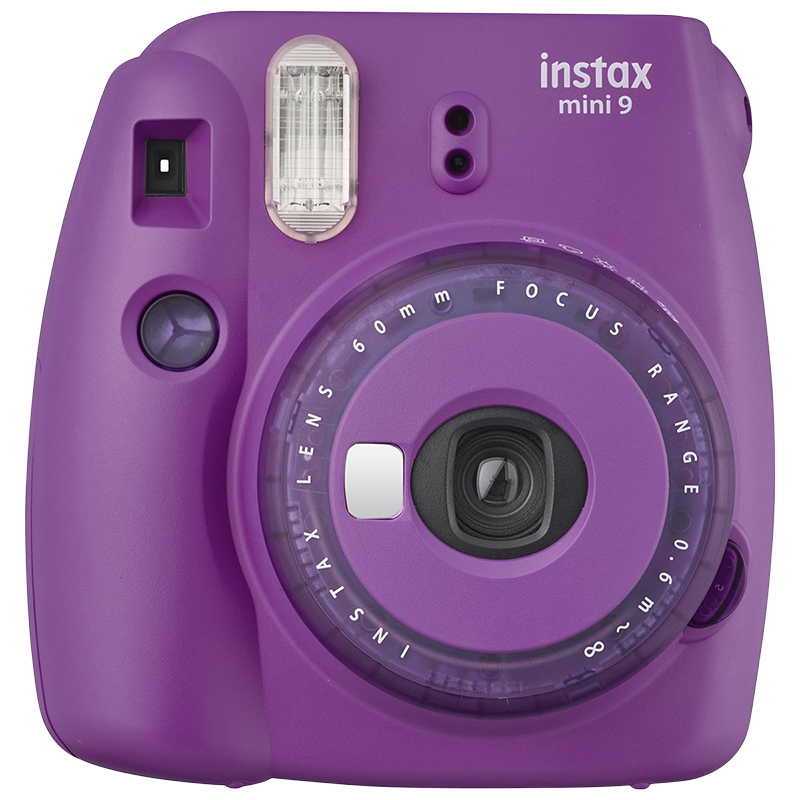 Fujifilm Instax Mini 9 - Clear Purple - 600020733