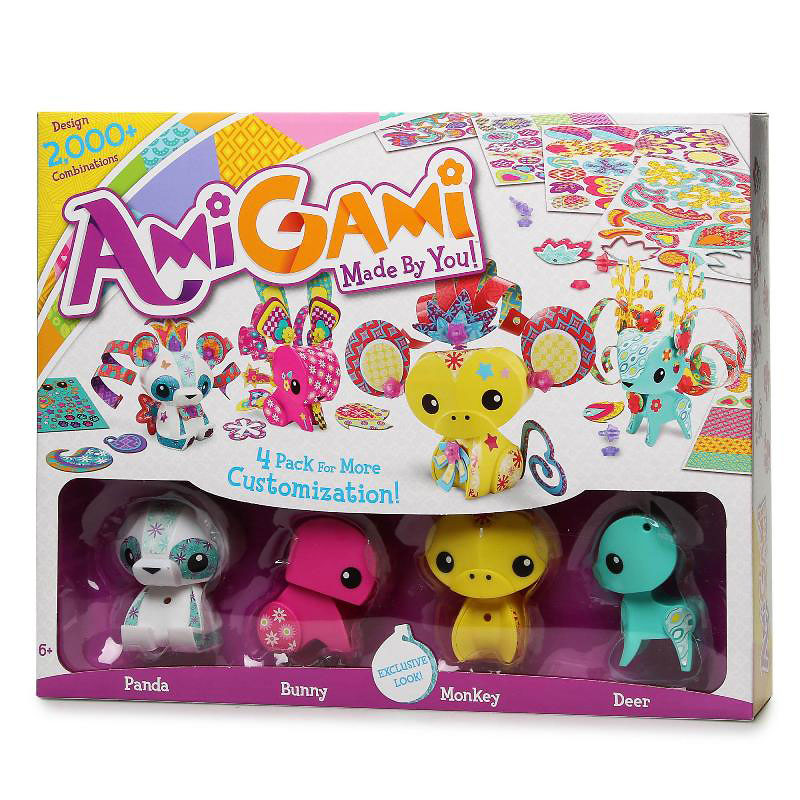 AmiGami Core Figure Pack - Assorted
