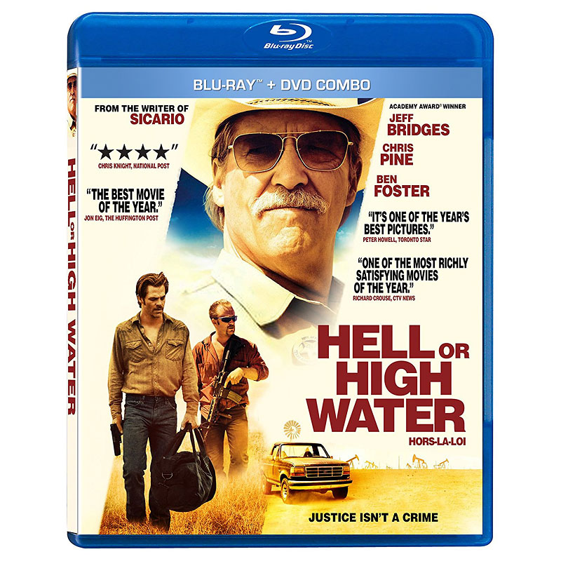 Hell Or High Water - Blu-ray Combo