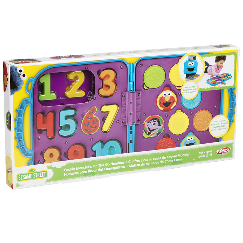 Sesame Street Cookie Monster on the go Numbers
