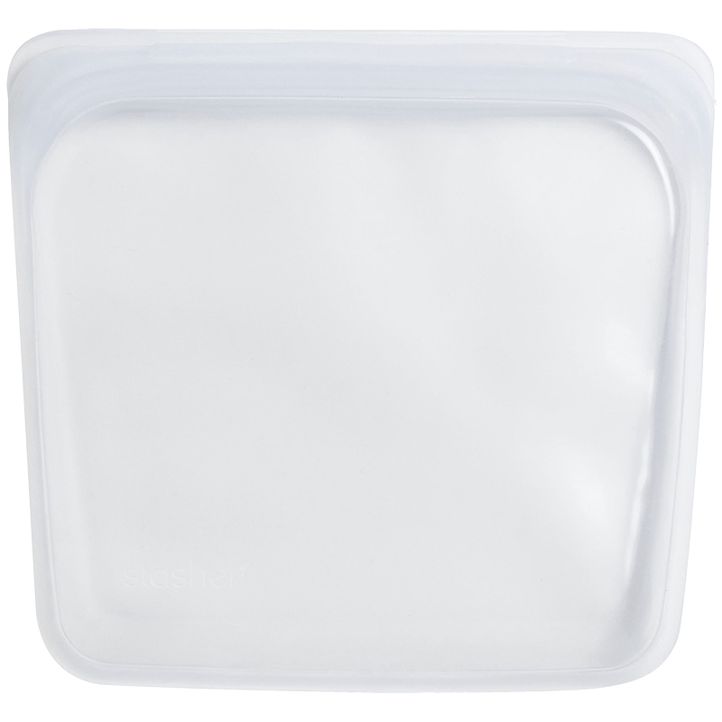 Stasher Reusable Food Bag - Clear - 444ml