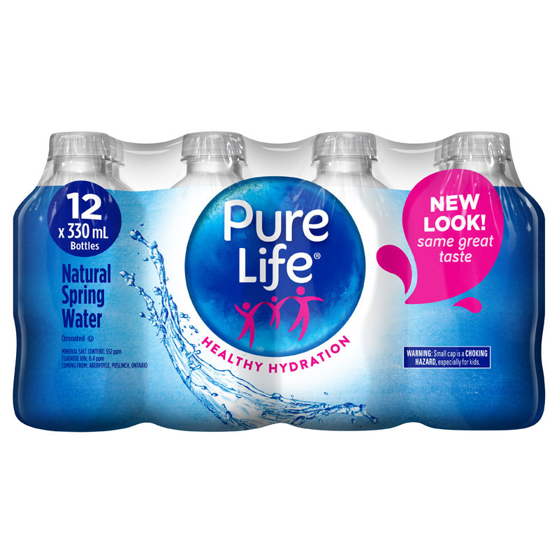 b9700a3c6d Nestle Pure Life Natural Spring Water - 12x330ml | London Drugs