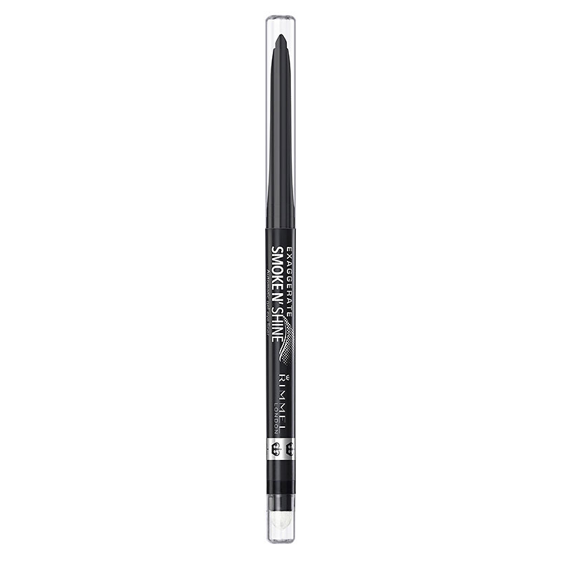Rimmel Exaggerate Smoke N' Shine Liner - Little Black Smokey