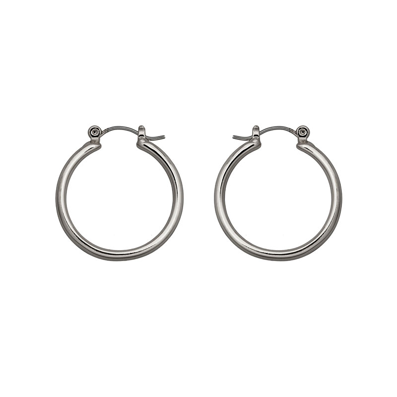 Nine West Medium Hoop Earrings