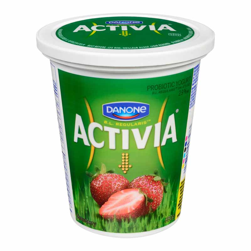 Danone Activia Yogurt - Strawberry - 650g