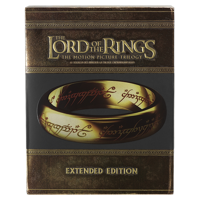 The Lord Of The Rings: The Extended Motion Picture Trilogy - Blu-ray