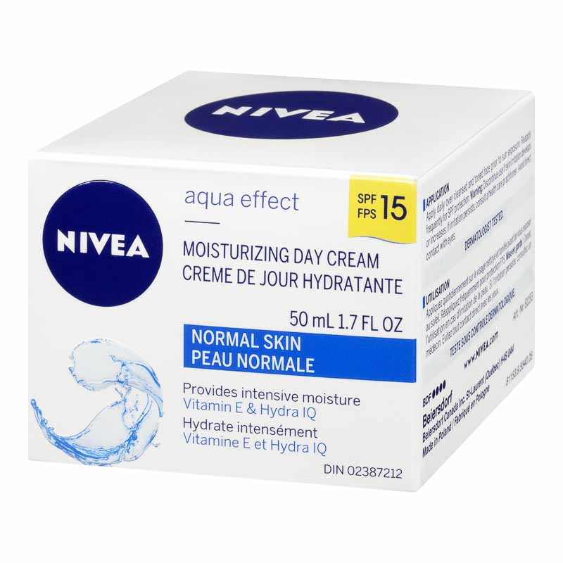 Nivea Visage Aqua Effect Moisturizing Day Cream SPF 15 - 50ml