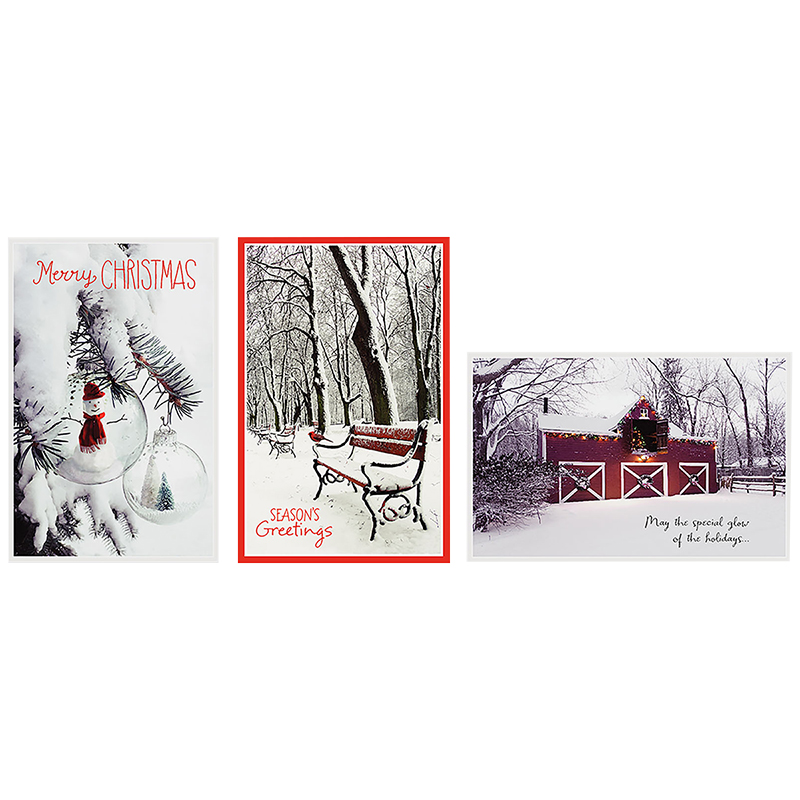A Greetings Premium Greeting Cards - Black & White - 14 Cards ...