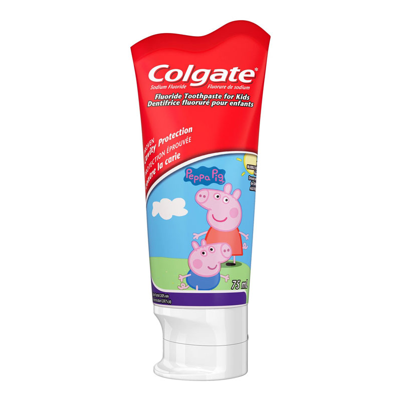 Colgate Fluoride Toothpaste for Kids - 75ml