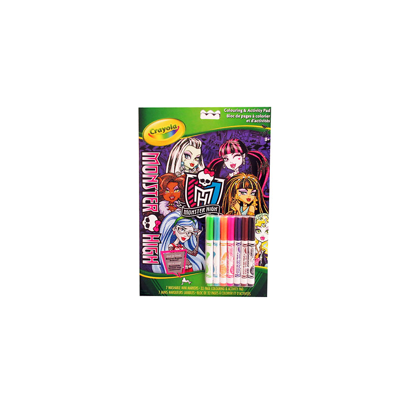 Crayola Monster High Activity Book