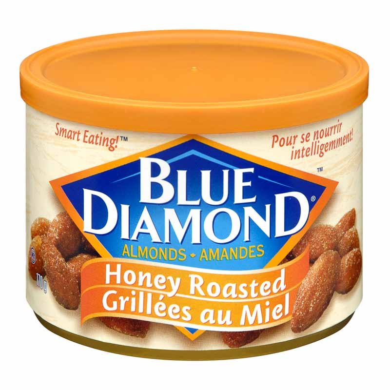 Blue Diamond Almonds - Honey Roast  - 170g