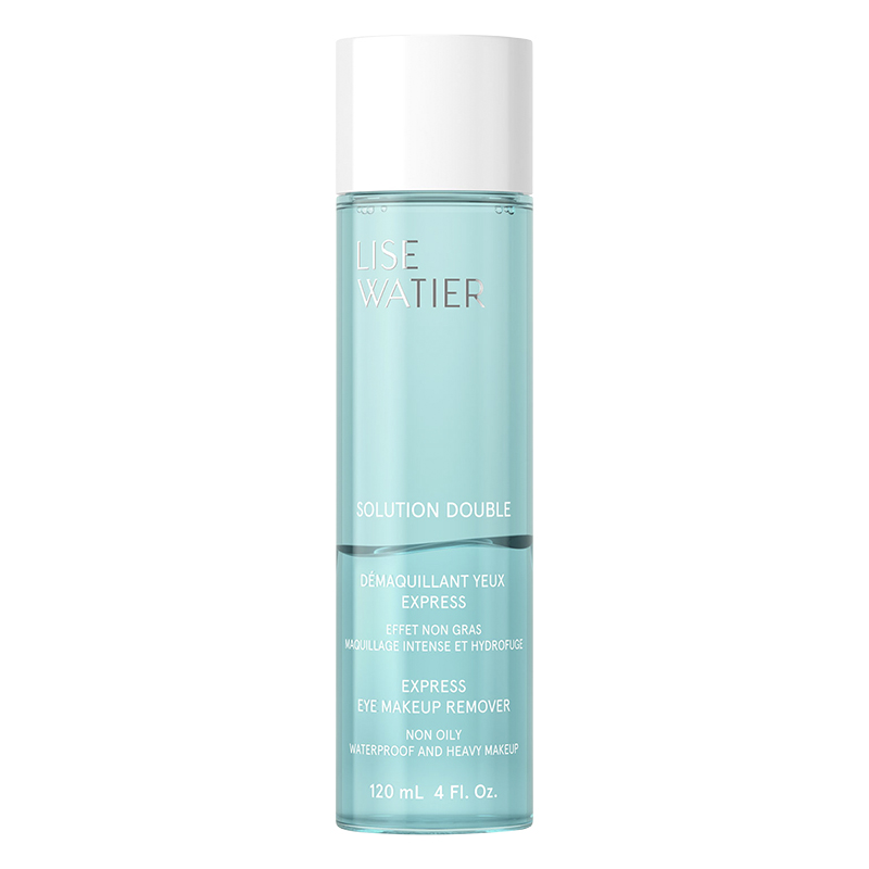 Lise Watier Solution Double Express Eye Makeup Remover - 120ml