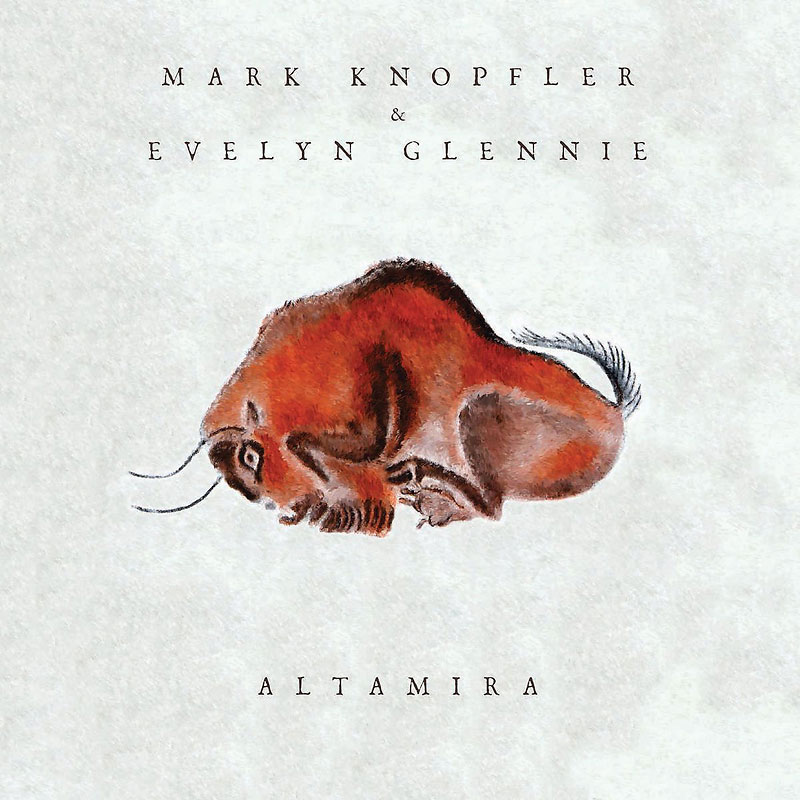 Soundtrack - Mark Knopfler & Evelyn Glennie - Altamira - CD