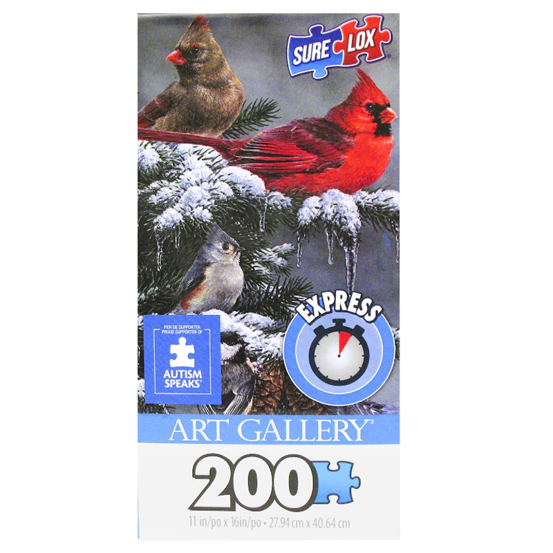 Sure-Lox Art Gallery Express Puzzle - 200 piece - Assorted