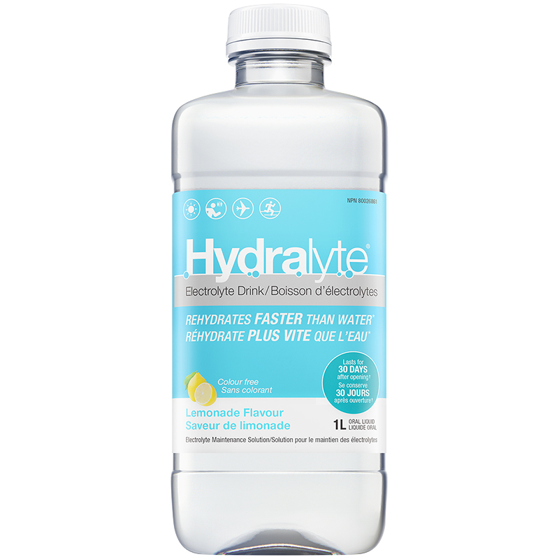 Hydralyte Electrolyte Maintenance Solution - Lemon - 1L
