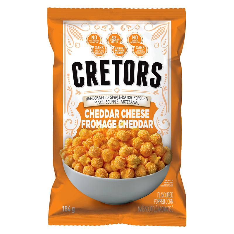 G.H.Cretors Popped Corn - Just The Cheese Corn - 125g