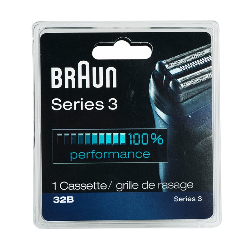 Braun 32B/Series 3-340 Replacement Head