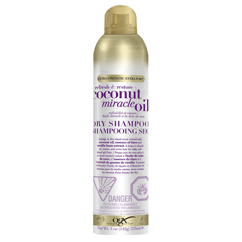 OGX Refresh & Restore Coconut Miracle Oil Dry Shampoo - 235ml