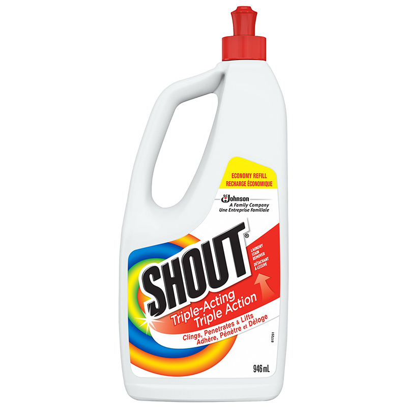 Shout Triple-Acting Liquid Economy Refill - 946ml