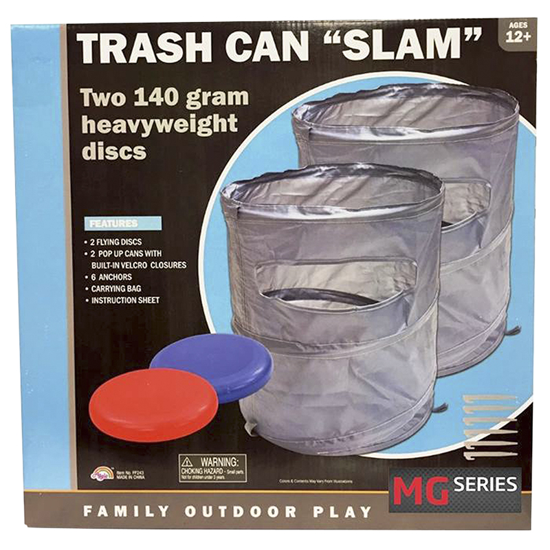 Trash Can Slam Game