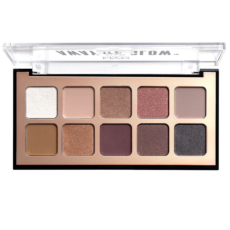 NYX Professional Makeup Away We Glow Shadow Palette - LoveBeam